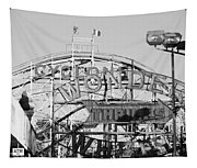 The Cyclone In Black And White Tapestry