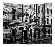 The Czech Inn - Dublin Ireland In Black And White Tapestry