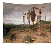 The Damned Field Execution Place In The Roman Empire Tapestry