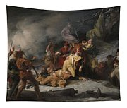 The Death Of General Montgomery In The Attack On Quebec, December 31, 1775, 1786 Oil On Canvas Tapestry