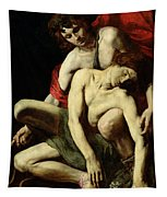 The Death Of Hyacinthus  Tapestry