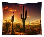 The Desert Awakens  Tapestry