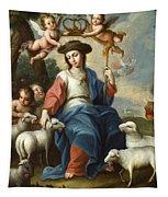 The Divine Shepherdess Tapestry