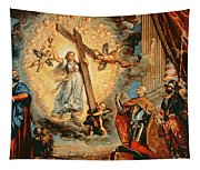 The Doge Grimani Kneeling Before Faith Tapestry
