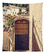 The Door With Overview Of Ronda Tapestry