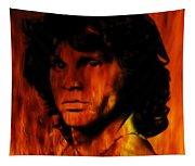 The Doors Light My Fire Tapestry