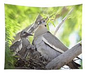 The Dove Family  Tapestry