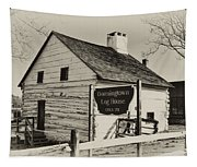 The Downingtown Log House  Tapestry