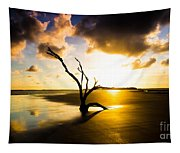 The Driftwood Tree Folly Beach Tapestry