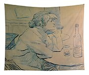 The Drinker Or An Hangover Tapestry