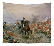 The Duke Of Wellington At Waterloo Tapestry
