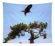 The Eagle Is Landing Tapestry