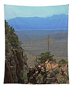 The Edge Of Parker Canyon Tapestry