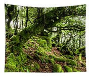 The Elven Forest No2 Wide Tapestry