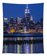 The Empire State Building Pastels Esb Tapestry