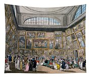 The Exhibition Room At Somerset House Tapestry