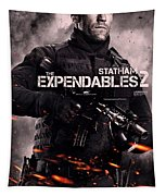 The Expendables 2 Statham Tapestry
