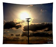The Eye Of The Evening Sun Tapestry