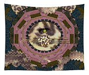 The Eye Of The Hidden Tiger Tapestry