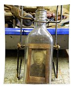 The Face In The Bottle  Tapestry