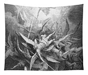 The Fall Of The Rebel Angels Tapestry