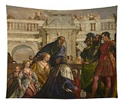 The Family Of Darius Before Alexander Tapestry