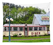 The Farmers Diner In Color Tapestry