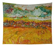 The Farmland Oil On Canvas Tapestry