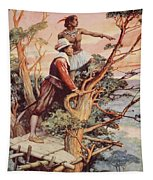 The First Englishman To See The Pacific Tapestry