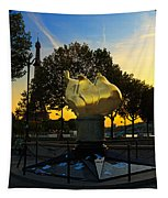 The Flame Of Liberty In Paris Tapestry