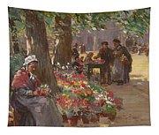 The Flower Seller Tapestry
