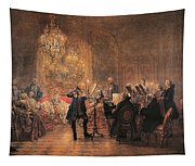 The Flute Concert Tapestry