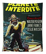 The Forbidden Planet Vintage Movie Poster Tapestry