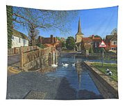 The Ford At Eynsford Kent Tapestry