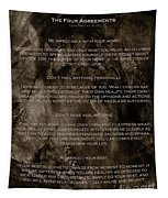 The Four Agreements Tapestry