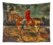 The Fox Hunt With Light Antique Store Mural Griffin Georgia Art Tapestry