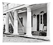 The Front Porch - Bw Tapestry