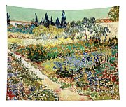 The Garden At Arles, 1888 Tapestry