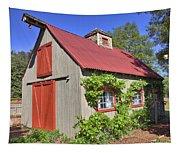 The Garden Barn Tapestry