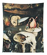 The Garden Of Earthly Delights Hell, Right Wing Of Triptych, C.1500 Oil On Panel See 322, 3425 Tapestry