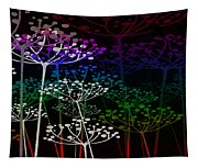 The Garden Of Your Mind Rainbow 2 Tapestry