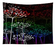 The Garden Of Your Mind Rainbow 3 Tapestry