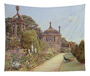 The Gardens At Montacute In Somerset Tapestry