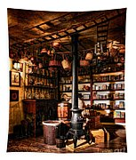 The General Store In My Basement Tapestry