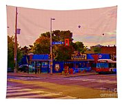 The Georgetown Sports Pub Soccer Bar Bank St The Glebe Paintings Of Ottawa Carole Spandau Artist Tapestry