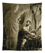 The Ghost Of Julius Caesar, In The Play Tapestry