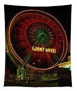 The Giant Wheel Spinning  Tapestry