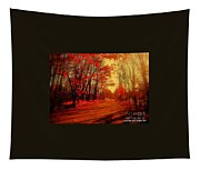 The Ginger Path Tapestry
