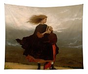The Girl I Left Behind Me Tapestry