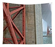 The Golden Gate - Fort Point View Tapestry